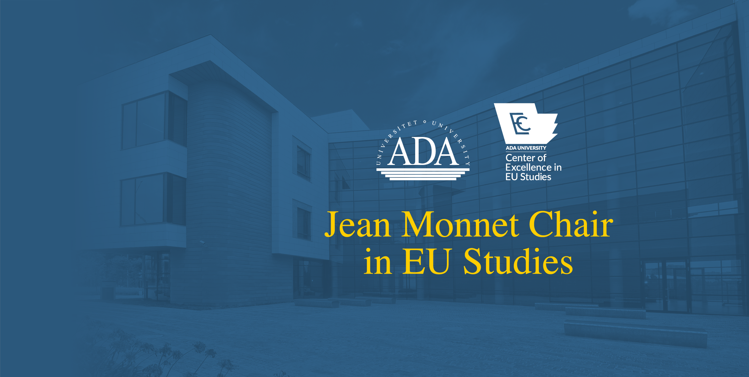 Dr. Anar Valiyev, Dean of School of Public and International Affairs, appointed Jean Monnet Chair